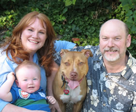 Katherine and Michael McCarter, Founders on No Worries 4 Pets with Magnus and Dezdemona